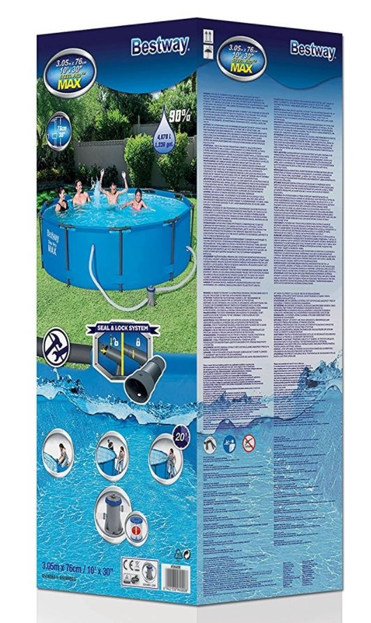 bestway novi max bazeni