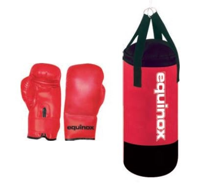 dječja vreća za boks sa rukavicama