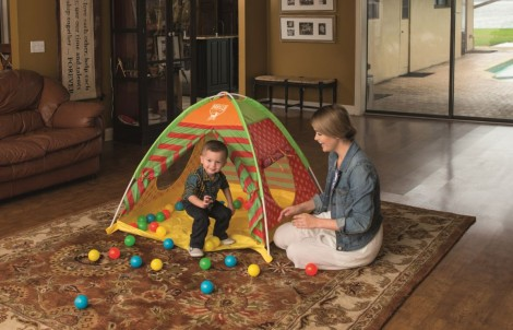 otroški šotor za igro