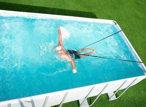 elastični trakovi za plavanje v bazenu