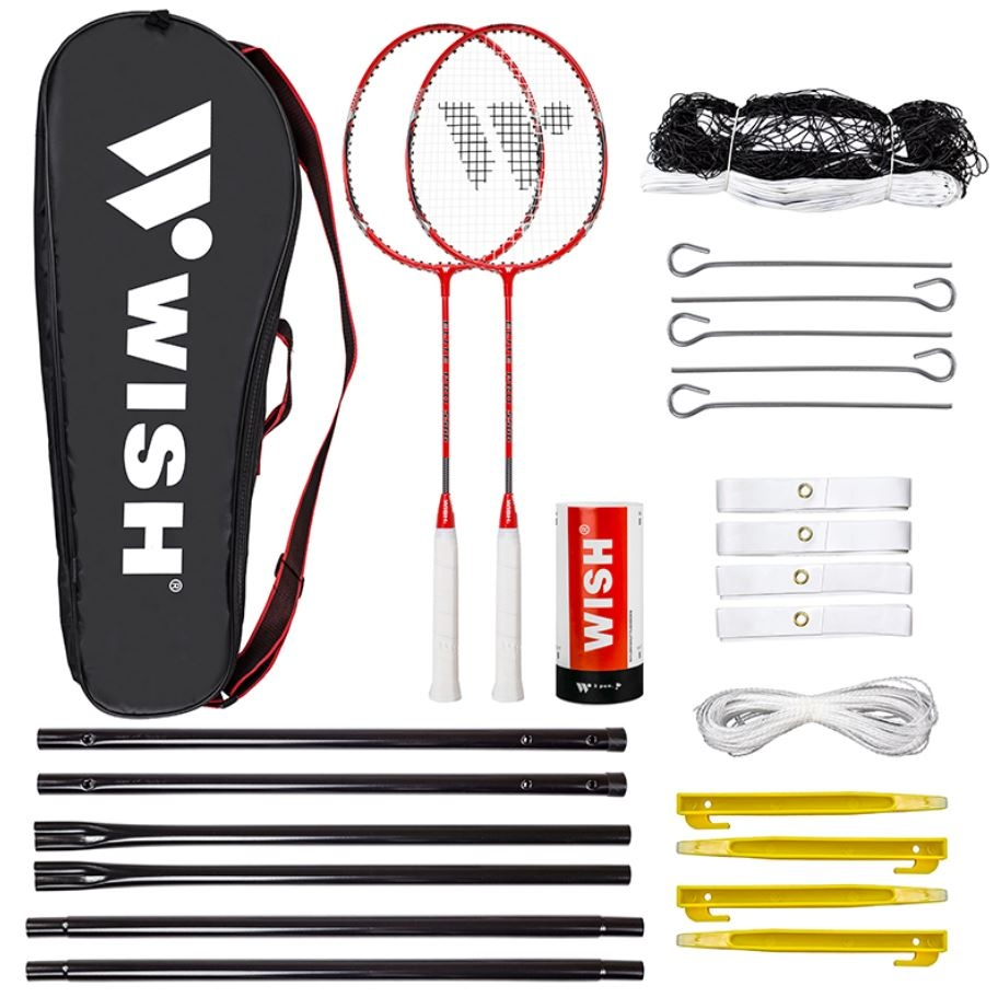 badminton komplet loparji z mrežo