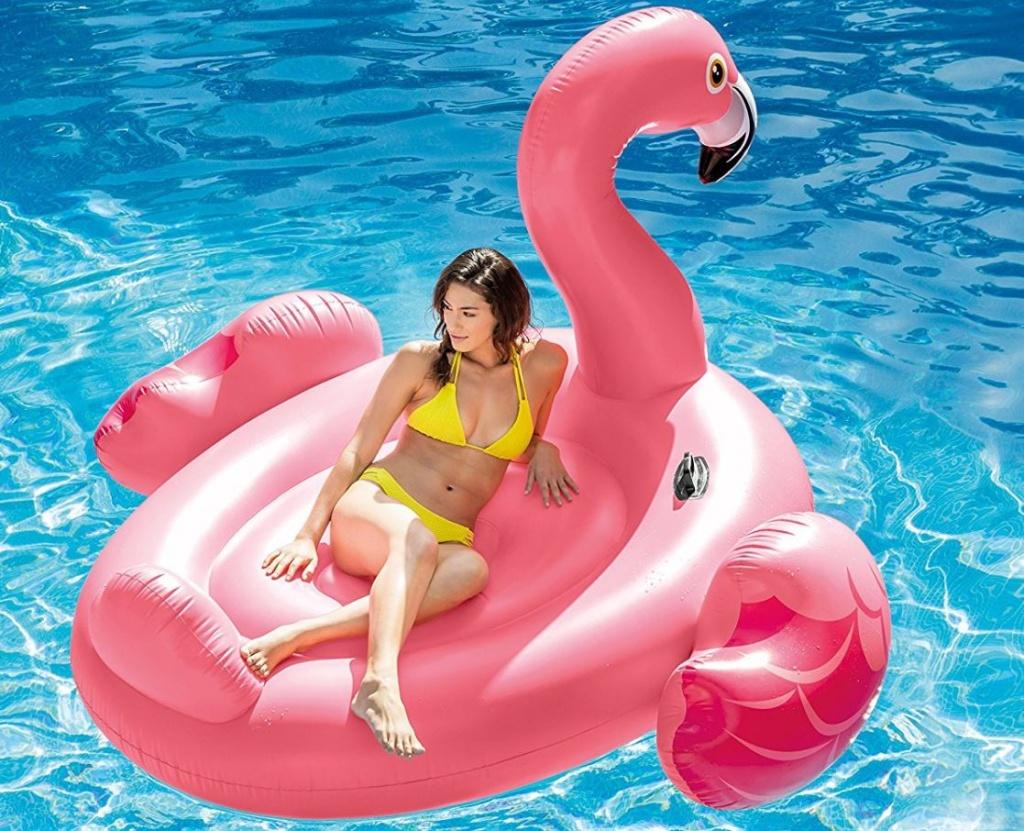 flamingo za morje intex
