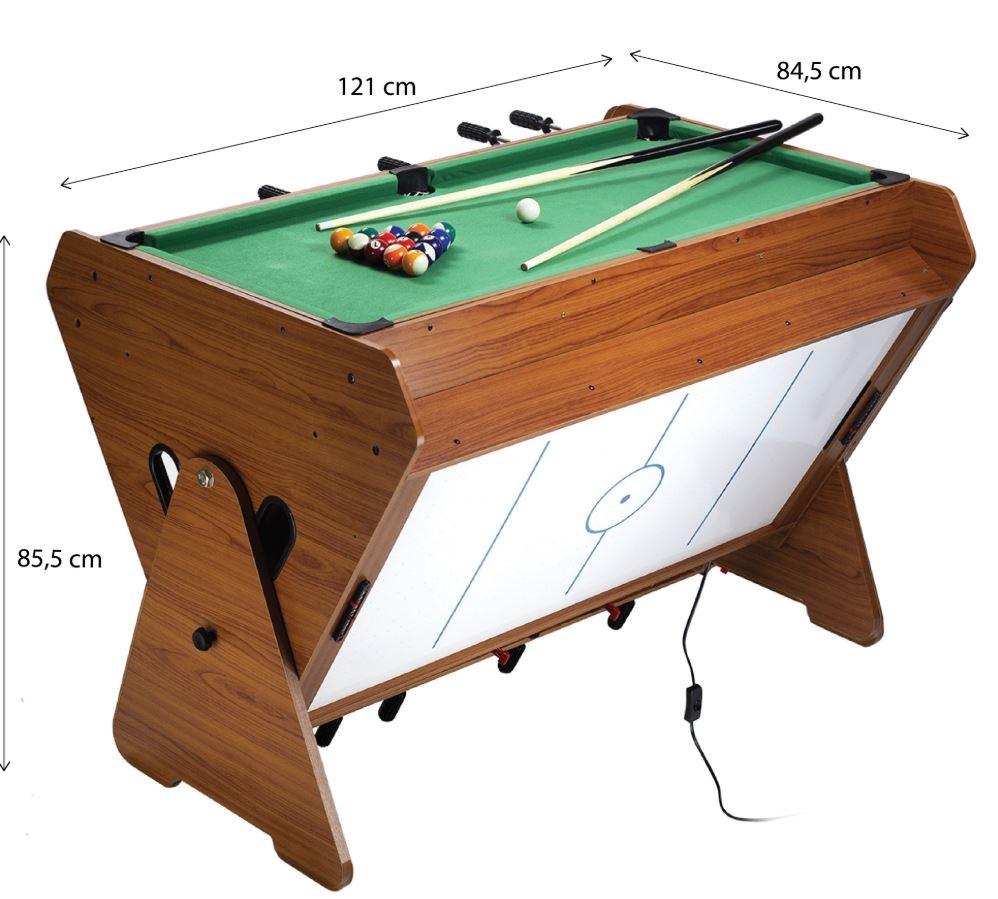 različne igre na eni mizi