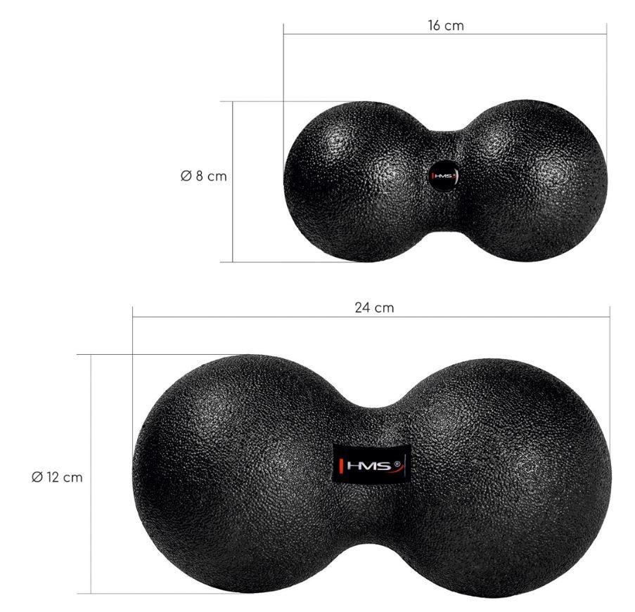 pripomoček za masaže obliki krogel
