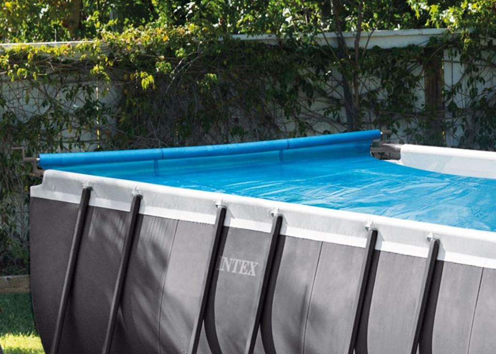 intex cover reel odvijalec solarnega pokrivala