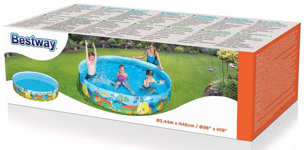 bazen za otroke iz platna