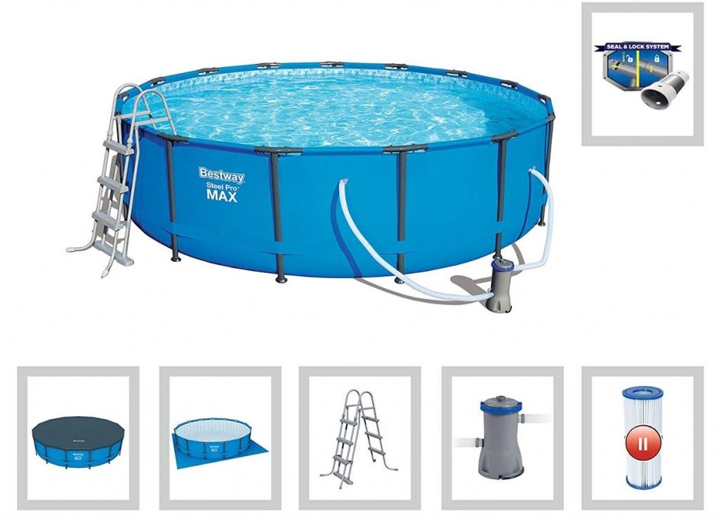 bazeni bestway vključena oprema