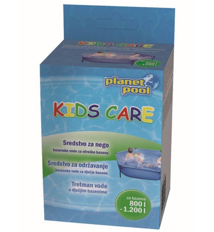 čiščenje vode v bazenu za otroke