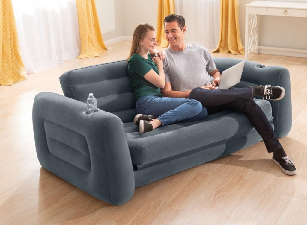 napihljiv fotelj intex