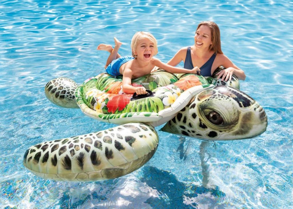 napihljiva želva za morje