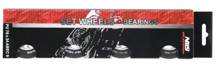 rezervna kolesca 72 x 24 ABEC 9