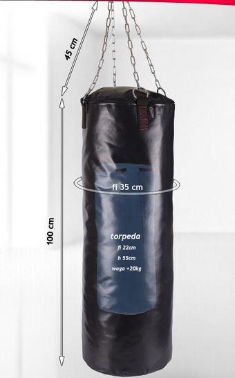 vreča za boksanje prazna