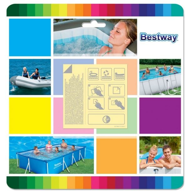 nalepke za popravilo bazena čolna igrače bestway