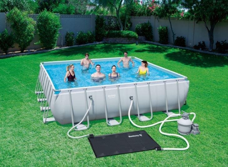 segrevanje vode v bazenu