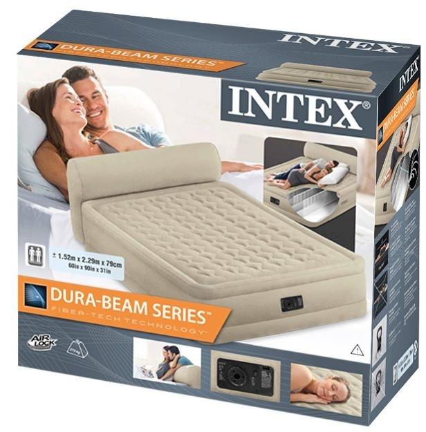 napihljiva postelja z vzglavnikom