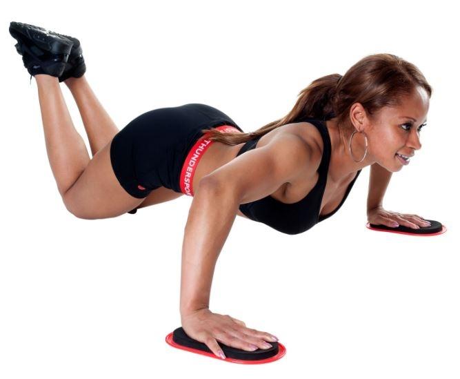slidez drsniki za vadbo