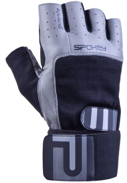 rokavice za fitnes siva barva