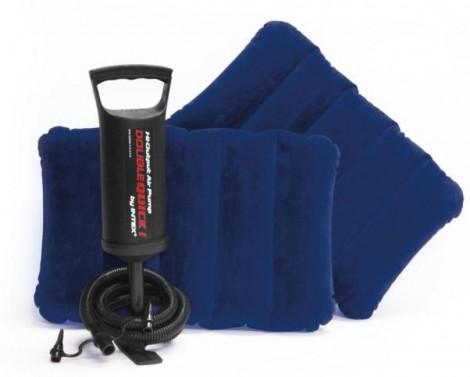 materasso gonfiabile cuscini e pompa intex 68765