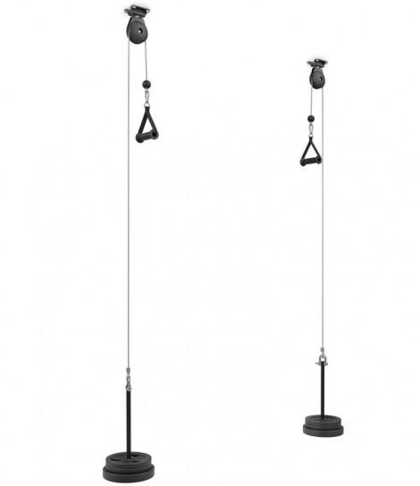 lat machine pulley per tricipiti