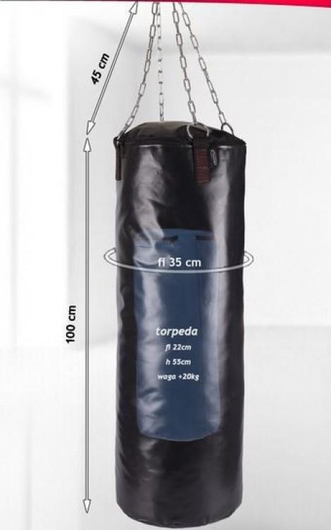 sacco boxe da 20 kg con aggiunta sacco da 20 kg