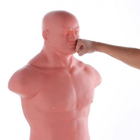 sacco boxe forma uomo punching man