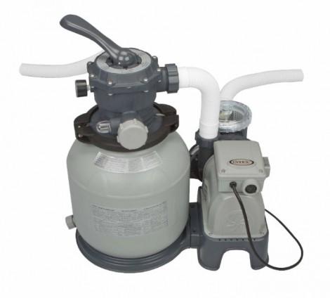 pompa a sabbia intex filtraggio 7.900l/h