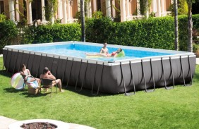 intex piscina frame 9 m