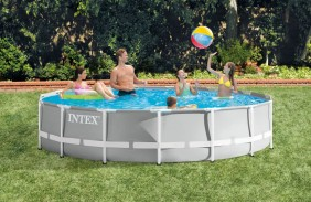 457 x 107 cm intex piscina prism frame