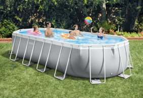 piscina ovale intex prism 610 x 305