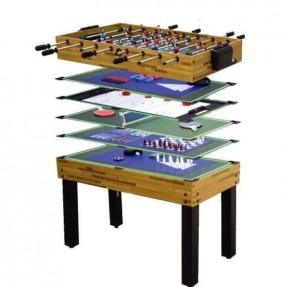 tavolo da gioco: 12 giochi in 1 per bambini e adul