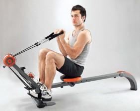 vogatore da allenamento home gym