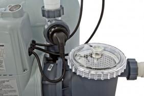 Pompa a Sabbia sistema Eco con clorinatore Intex
