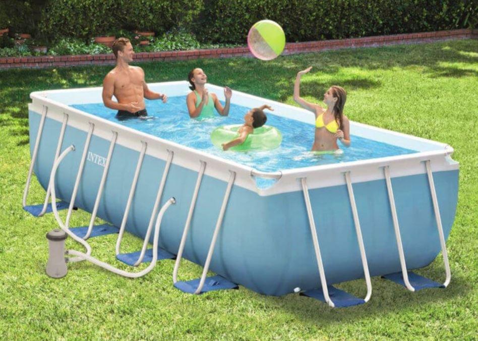 intex piscina prism frame fuoriterra 488 x 244 x 1
