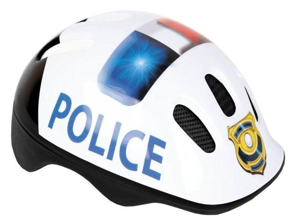 casco poliziotto bambino