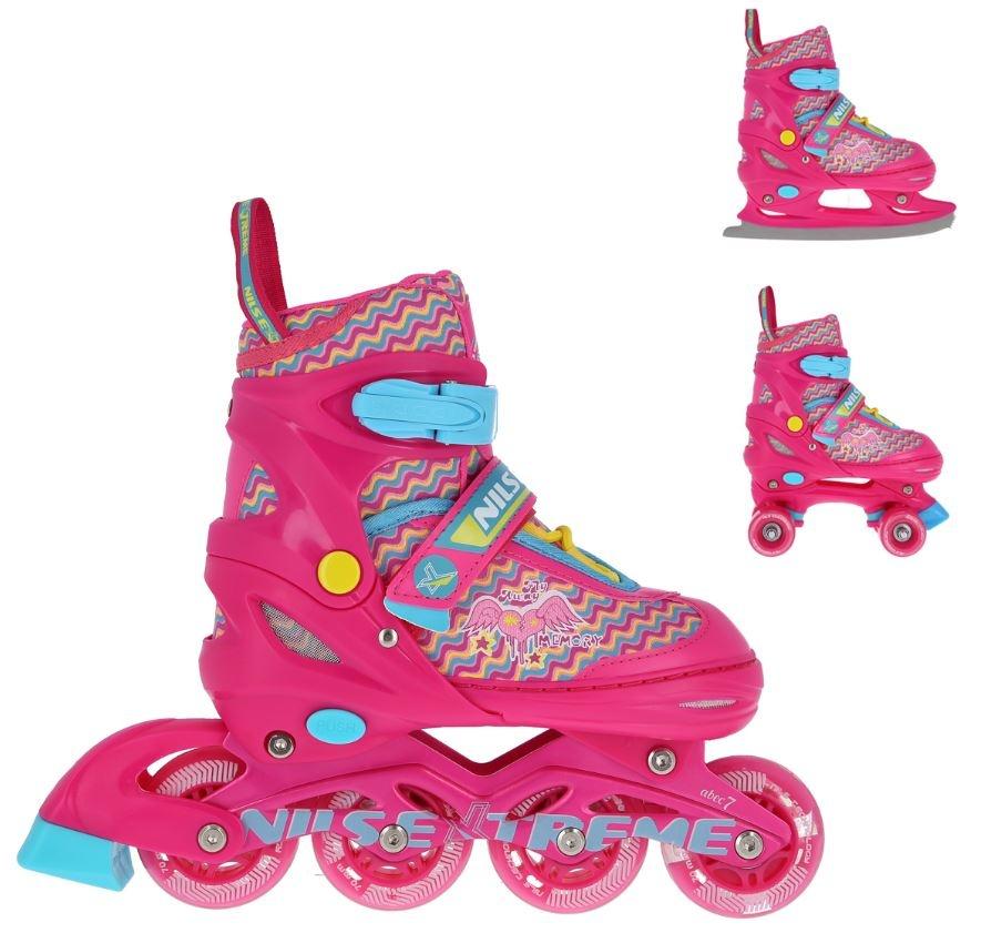 pattini da ghiaccio, roller bambina