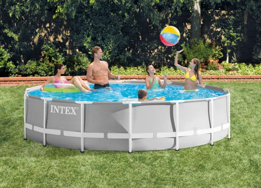 piscina rotonda intex 427 cm