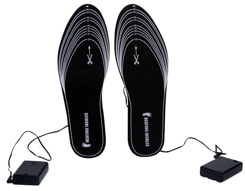 solette termiche a batteria per calzature