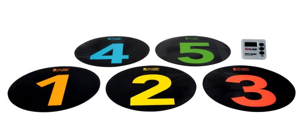 pure spots trainer delimitatori con timer digitale