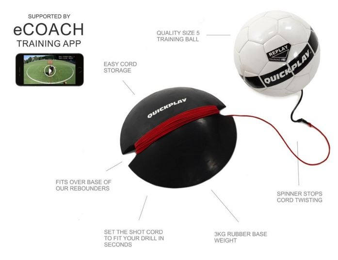replay training ball con app ecoach per smartphone
