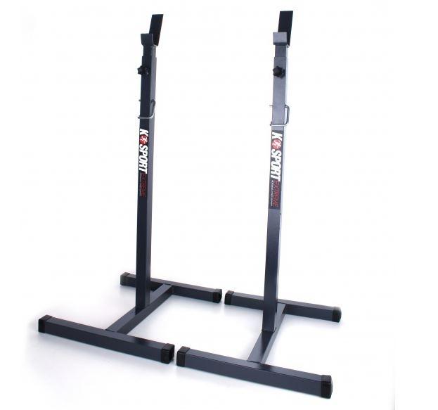 Supporto bilanciere con gambe stabili e regolabile in - Porta bilanciere ...