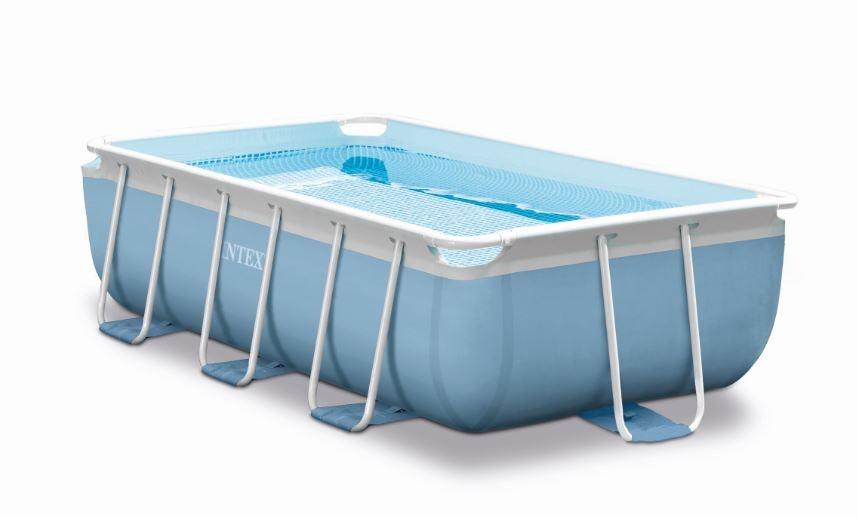 intex prism frame piscina rettangolare