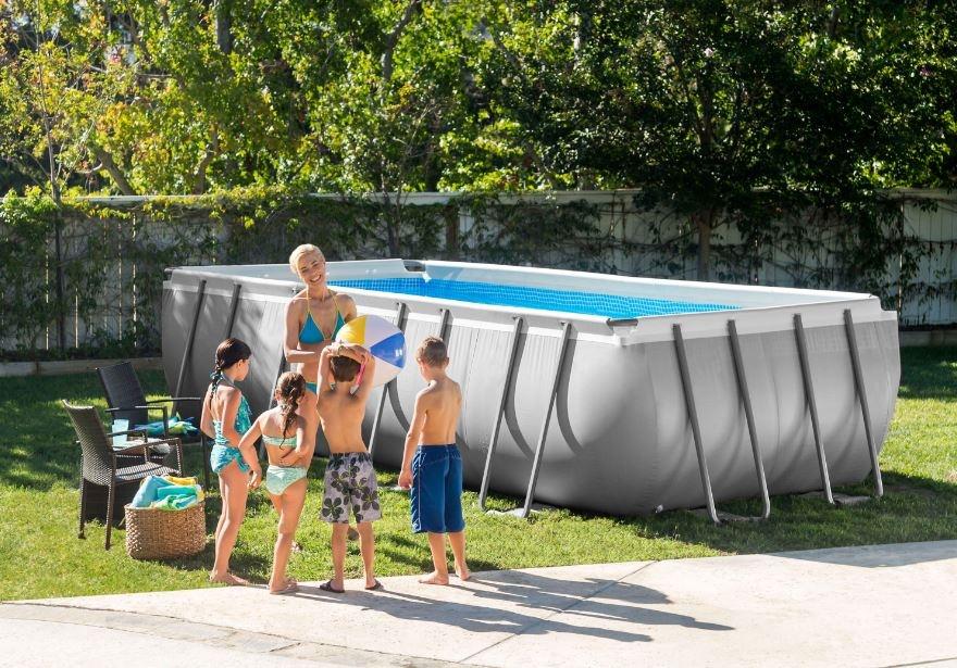 piscina intex 28352 ultraframe rettangolare