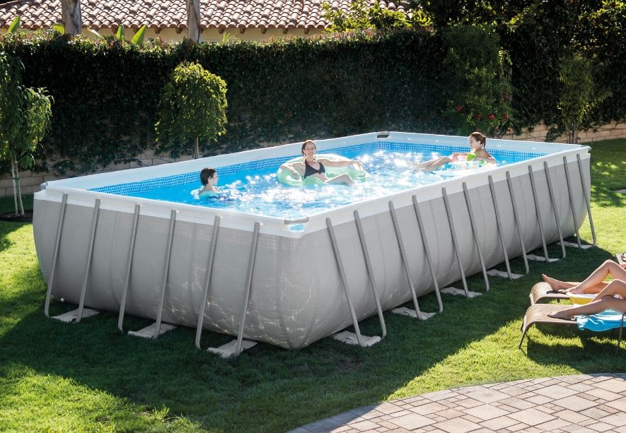 piscina ultra frame intex 732 x 366