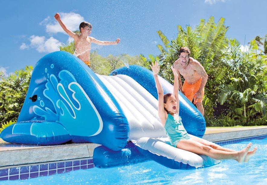 scivolo gonfiabile intex per piscine
