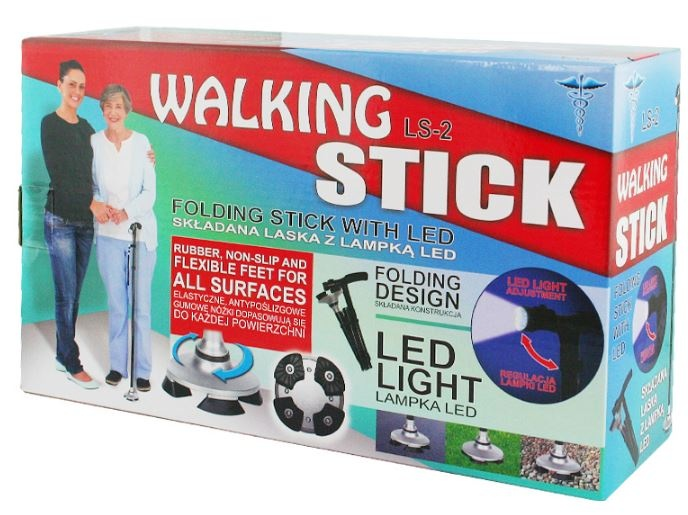walking stick bastone pieghevole